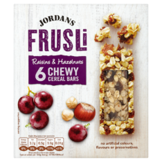 Packshot 13 Frusli raisin and hazelnut finals