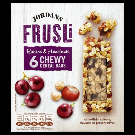 Packshot 13 Frusli raisin and hazelnut finals